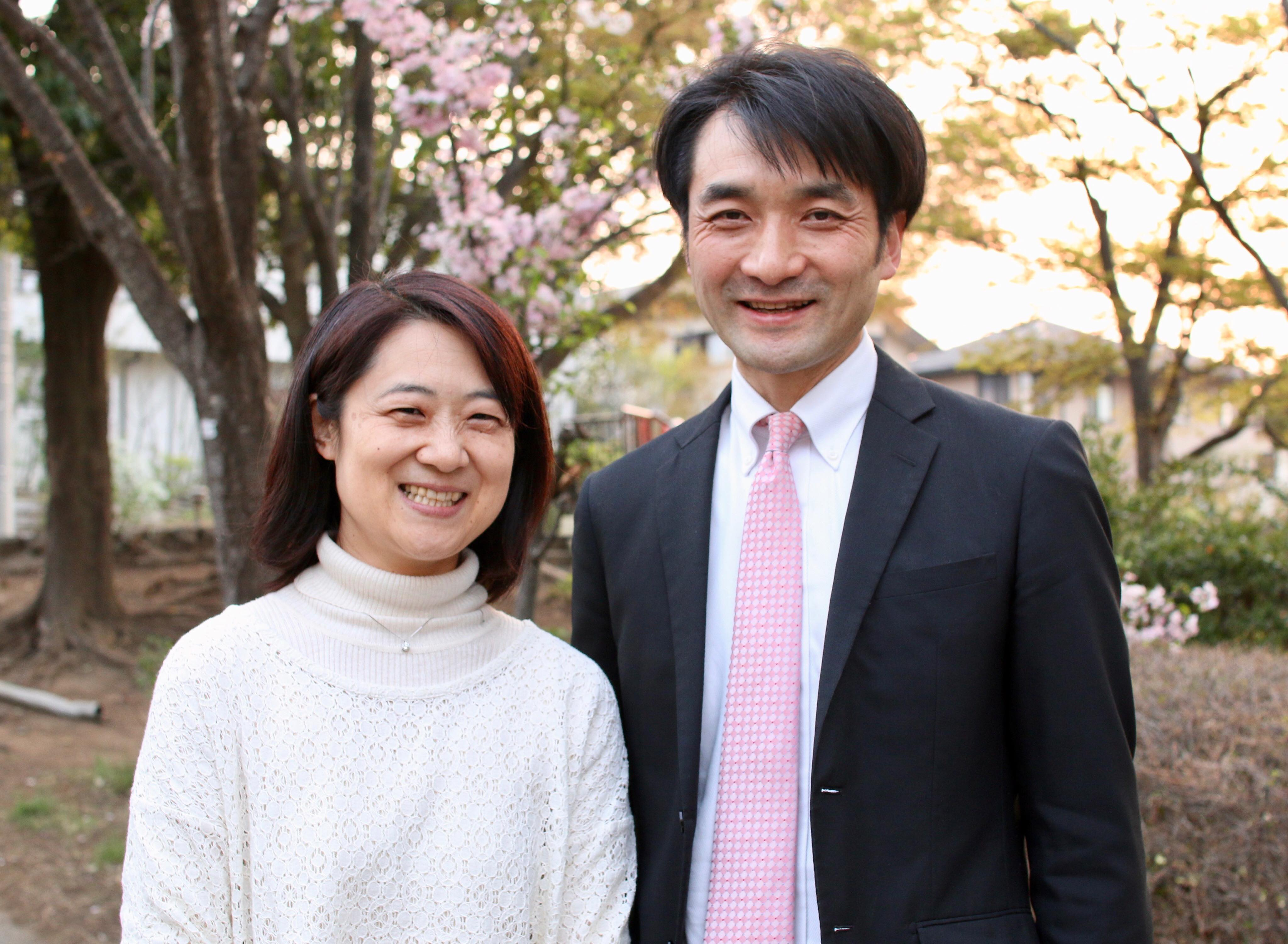 新しい年度 夏江と一緒に教会学校の幼稚園児担当になりました。